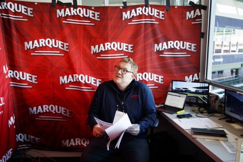 Boog Sciambi made his Chicago Cubs TV debut for Marquee Sports Network. Here's how he did.