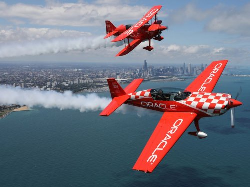 With no full Air & Water Show for summer 2021, we'll miss 'Voice of the Air Show' Herb Hunter