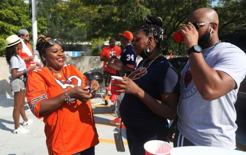 Chicago Bears tailgaters are back in their element at Soldier Field: 'This is part of what makes the whole experience. It's not just the game.'