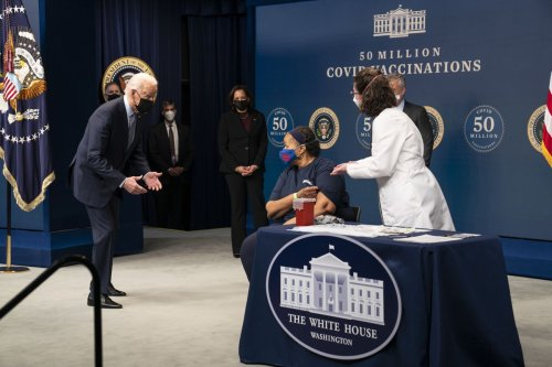 Biden marks 50M vaccine doses in first 5 weeks in office, on track to exceed 100 day distribution goal
