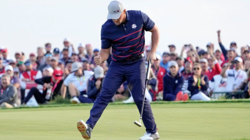 The US storms to a 6-2 lead over Europe in the Ryder Cup — the Americans' largest 1st-day advantage since 1975