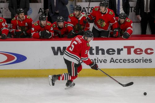 Top defenseman Connor Murphy agrees to a 4-year contract extension with the Chicago Blackhawks
