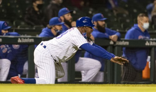 Willie Harris, a World Series hero for the 2005 White Sox, is now an energetic spark plug as the Chicago Cubs 3rd-base coach