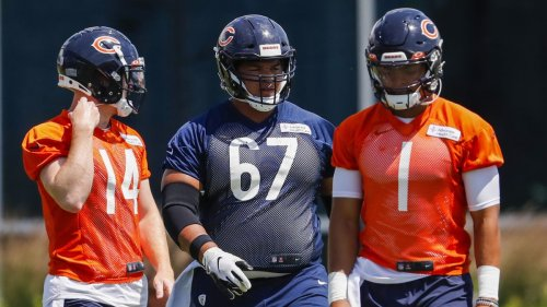 Column: Justin Fields plans to get away but won't take a day off before Chicago Bears training camp. 'I have to do something to feel like I'm being productive,' the rookie quarterback says.