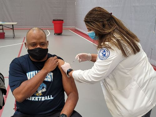 Landmarks: A school district received more COVID-19 shots than it needed; within weeks it helped 2,300 community members get vaccinated