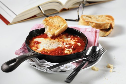 Shakshuka cooks up hot and spicy, a comforting winter companion