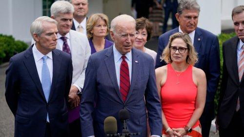 President Biden, group of bipartisan senators announce $973 billion infrastructure plan: 'We have a deal'