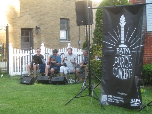 Born amid last summer's restrictions, porch concerts return for an encore in Beverly, Blue Island