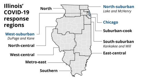 COVID-19 in Illinois by the numbers: Here's a daily update on cases, positivity rate and hospital data in your area