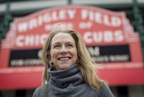 How did broadcaster Beth Mowins celebrate after making history with the Chicago Cubs? 'A hamburger, a Manhattan and more baseball.'