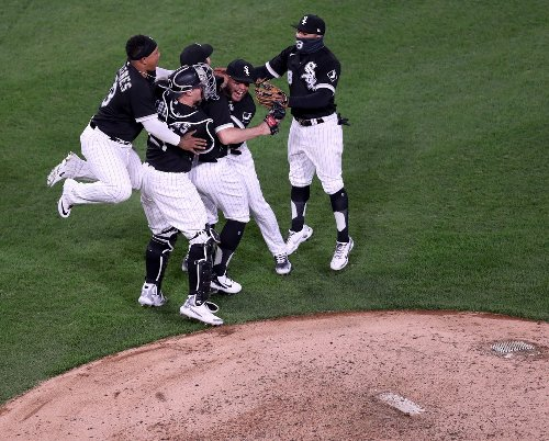 No-hitter for White Sox pitcher Carlos Rodón - cover