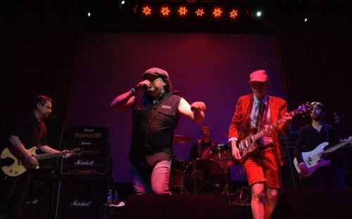 AC/DC tribute band Bonfire help kick off first month of Griffith's Avenue 912