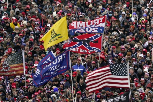 After US Capitol attack, some Republican Party officials are adopting war talk long used by far-right extremists, white supremacists