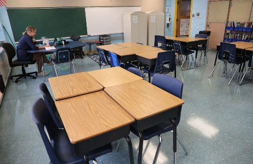 Column: Remote learning takes a toll on students' mental health. But returning to classrooms won't be easy either.