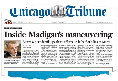 10 years of Madigan coverage: Read the Tribune's investigations into Illinois' House speaker
