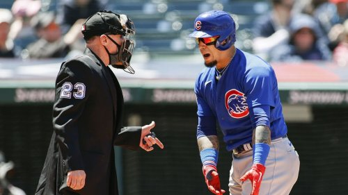 Chicago Cubs strand 15 runners in a 2-1, 10-inning loss to the Cleveland Indians