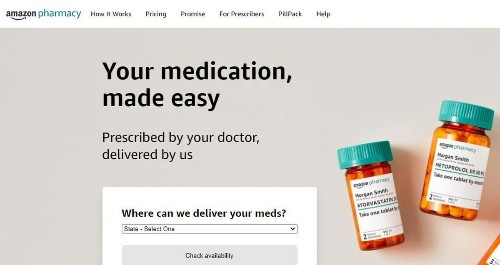 Amazon opens online pharmacy, a major rival for Walgreens, CVS