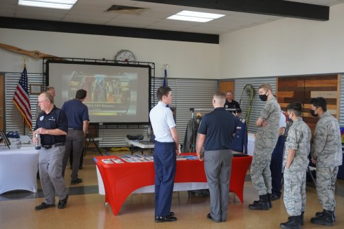 Civil Air Patrol holds open house at airport