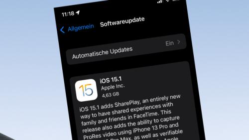 Erstes großes Update für iOS 15: iOS 15.1 liefert verschobene Funktionen nach