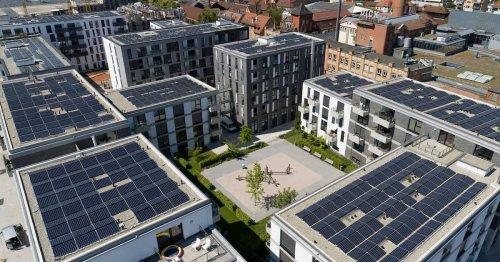 Von Sonne in Wasserstoff: Deutsche Stadt zieht klimaneutrales Viertel hoch