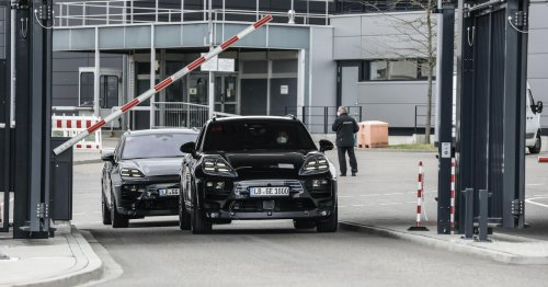 Porsche Macan: Prototypen des Elektro-SUVs mit 800-Volt-Technik gesichtet