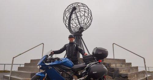 Würzburger durchquert Europa mit E-Motorrad: Die Anzahl der Ladestopps ist irre
