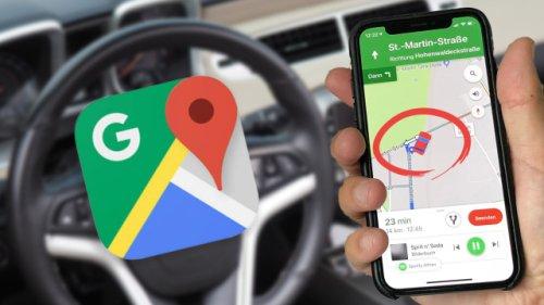 Verstecktes Feature in Google Maps: So verwandeln Sie den blauen Pfeil in ein Auto