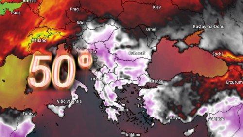 50 Grad! Erbarmungslose Sahara-Hitze überrollt Europa