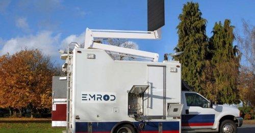 Keine Masten, kein Kabel: So lässt sich Strom per Laser-Strahl transportieren