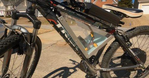 Fahrrad-Schrauber steigert sich hinein: Sein Mountainbike hat jetzt 5.000 Watt!