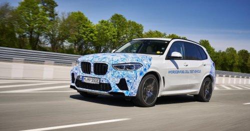 BMW hatte es schon ad acta gelegt: Jetzt stürzen sie sich wieder auf Wasserstoff