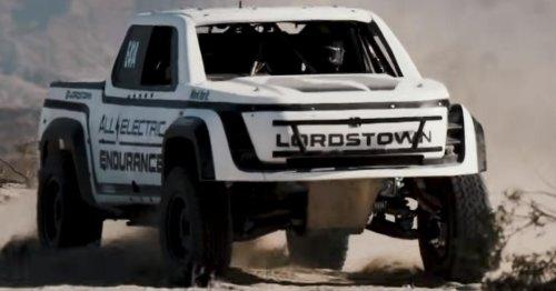 E-Auto sollte legendäres Wüstenrennen gewinnen: Deshalb scheiterte es gnadenlos