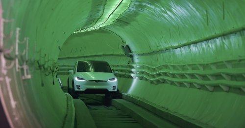 Statt autonomer Raketen-Schlitten: So lahm ist Elon Musks Tesla-Tunnel wirklich