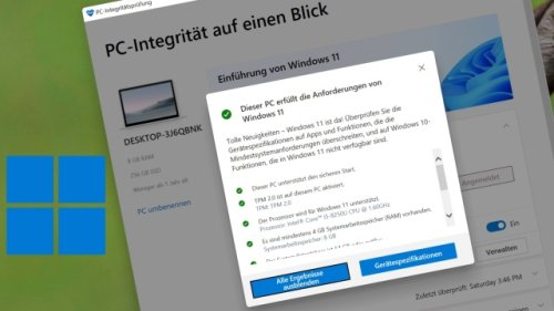 Windows 11 Check Tool: Systemanforderungen mit PC abgleichen