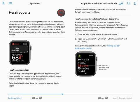 Apple Watch - watchOS 8 Benutzerhandbuch