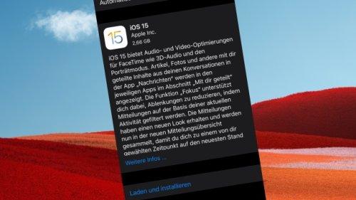 Nach dem großen iPhone-Update: Diese 6 Hürden müssen Sie in iOS 15 nehmen