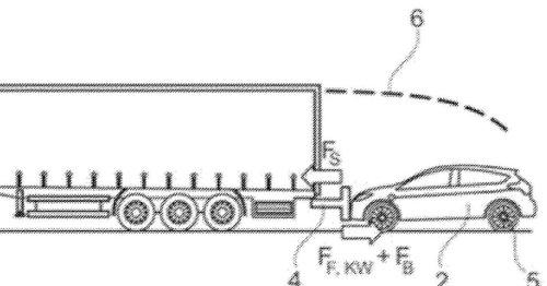 E-Autos während der Fahrt aufladen: Ford will sie hinter einem LKW herziehen