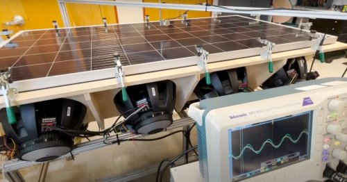 Solarpaneele unter Beschuss: Dieser Härtetest soll sie zum Brechen bringen