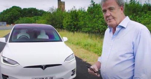 Ironie oder Ernst? Top-Gear-Star feiert diese irren Features im Tesla Model X