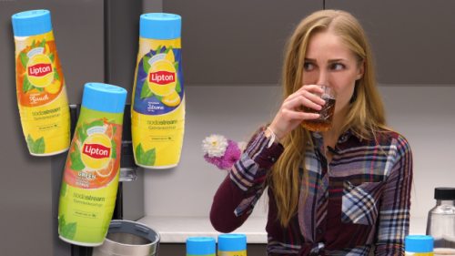 Lipton-Eistee in Sekunden selber machen: Wir zeigen Ihnen, wie es geht
