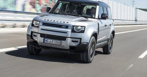 Nach Hybrid-Defender: Land Rover fährt bald mit Wasserstoff