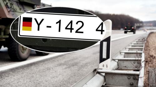 Warum Bundeswehr-Fahrzeuge ein Y-Kennzeichen tragen