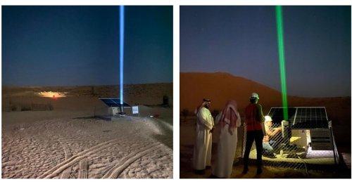 Saudis bauen Solar-Laser in die Wüste: Sie sollen Verdurstende retten