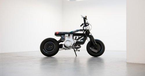 Durchzugsstarken E-Roller ohne Motorradführerschein fahren: BMW stellt CE02 vor