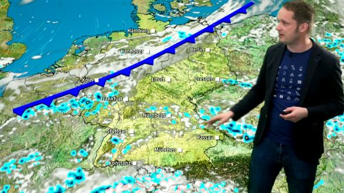 Regen, Schnee, Blitze: Explosive Luftmischung löst Gewitter aus