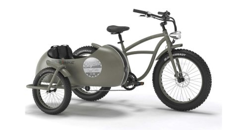 Verrücktes E-Bike kommt mit Beiwagen: Es gibt nur einen Haken