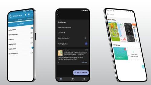Die besten Screenshot-Apps für Android: Mehr Funktionen und leichte Bedienung