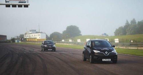 Renault Zoe stellt neuen Reichweitenrekord auf: Das Tempo war ein Witz