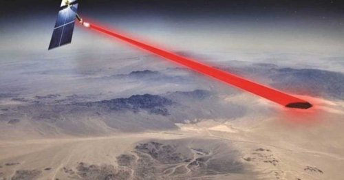 Besser als Solar: Dieser Satellit schießt Laser-Strom aus dem Weltall zur Erde