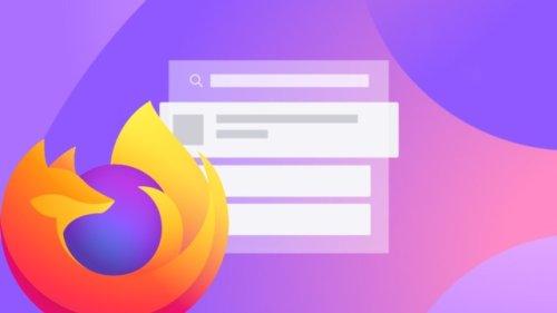 Das geht zu weit, Firefox: Werbung in der URL-Zeile